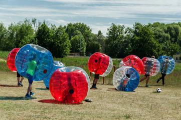 À la découverte du jeu bubble foot